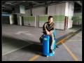日照駕駛式洗地機