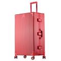 工廠生產直銷時尚鋁框拉桿箱萬向輪行李箱男女密碼旅行箱