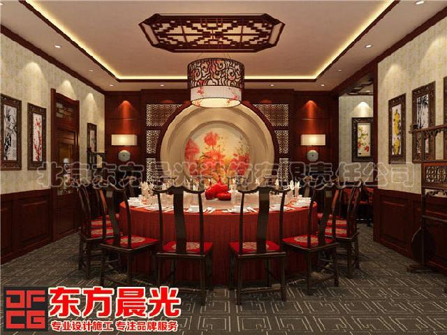 手机验证高档的中式酒楼设计-东方晨光装饰