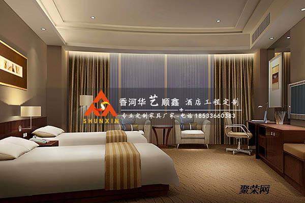 星级酒店家具标准间宾馆套房家具设计TF 240