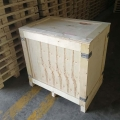 青島設備包裝木箱定制加工廠 出口免熏蒸木箱載重大