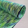 現貨供應七彩健康布 滌氨夾層雙面布料 瑜伽服運動服透氣面料