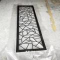 高端鏡面黑金鋁藝屏風 別墅客廳裝飾屏風