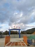 供應華杰牌QLH-4000彭山建筑工程洗車機