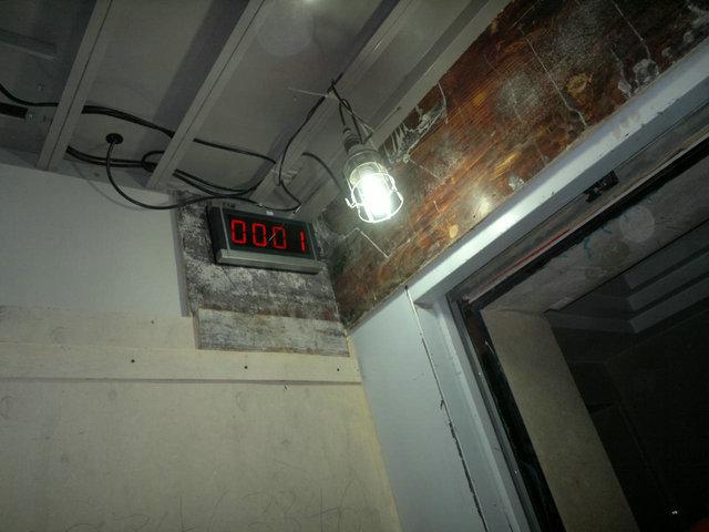 乘客电梯外置临时呼叫按钮