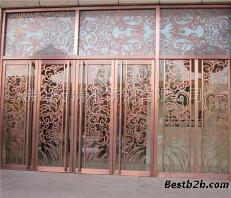 彩色玻璃欧式拱形窗