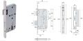 銷售工程項目專用Briton必騰KL1020標準鎖體