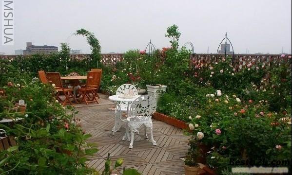 郑州屋顶绿化公司专业别墅花园阳台花园设计施工