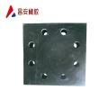 河南昌安定制帶安裝孔橡膠隔震墊產品概述