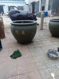 虎頭缸定做鑄銅雕塑純銅萬壽福純銅大缸 定制銅缸