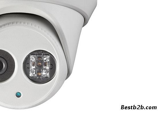 东莞监控安装,cmos icr日夜半球形网络摄像机