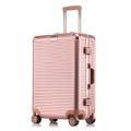 廠家直銷鋁框拉桿箱萬向輪行李箱密碼箱旅行箱