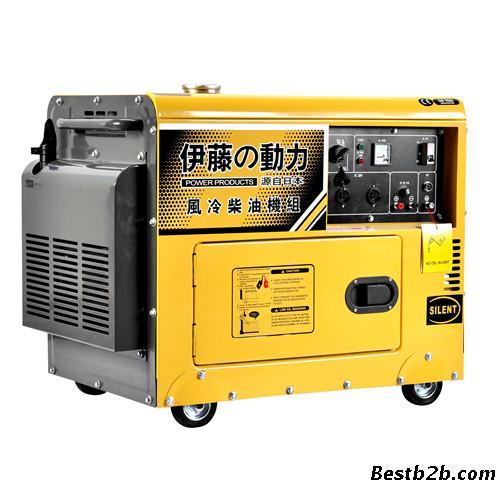 带增氧机5kw停电自启柴油发电机