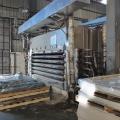 出售山东临沂天力产6层4x8尺二手贴面热压机
