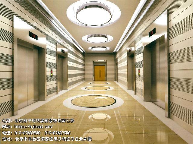 北京电梯厅装修设计就到岚宁时代建筑装饰