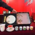 新年文創禮品功夫陶瓷茶具套裝定做