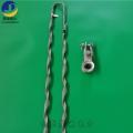ADSS光纜耐張線夾短跨距100米檔距 終端耐張編絲