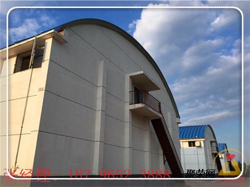 跨度不一,结构多样的拱形屋顶样板工程,涵盖了工业厂房,粮库冷库,体育