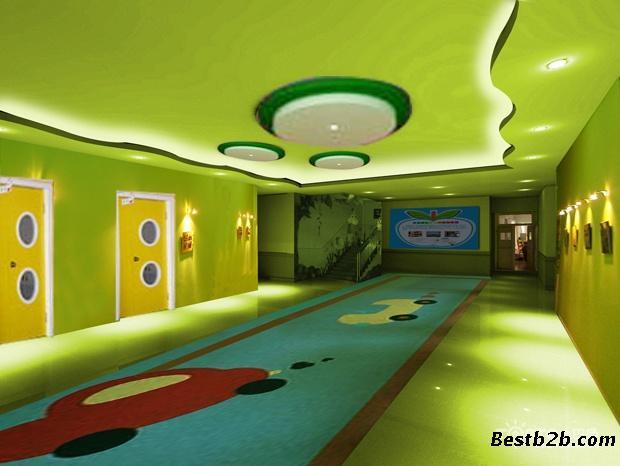 湖南沙特色个性幼儿园早教中心装修设计找铭家装饰