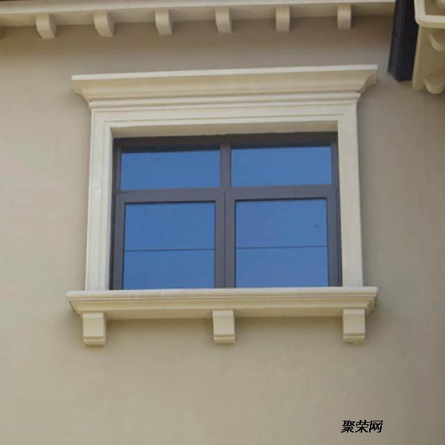 手机验证别墅窗套 酒店窗套 grc欧式门窗套