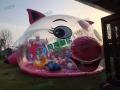 粉红猪猪乐园百万海洋球池