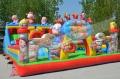 兒童樂園充氣城堡新款豬豬俠滑梯