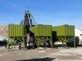 75立方產量的移動式混凝土攪拌站YHZS75