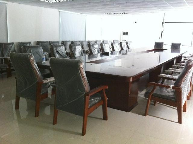 奕腾家具 板式可拆卸椭圆形 b-hyz001会议桌