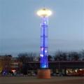 新樂市20米景觀高桿燈