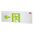 敏華疏散指示燈大型拉絲鋁面板單面標志燈
