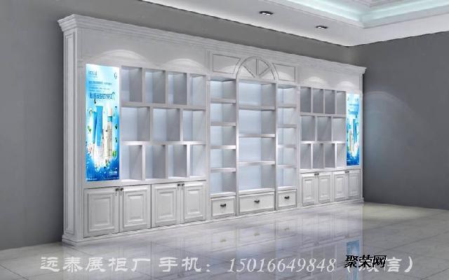 2016商场护肤品展示柜设计定制效果图
