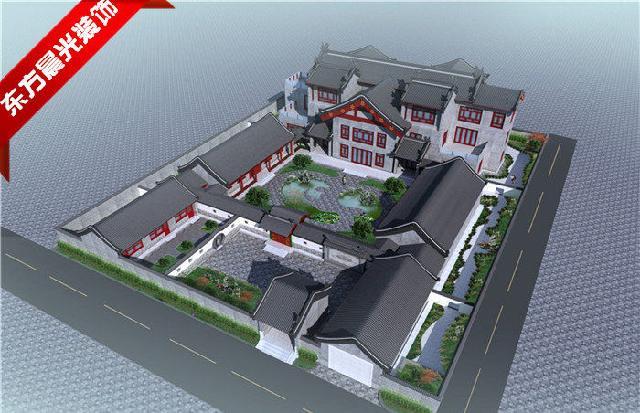 别墅设计,四合院装修,中式装修设计,仿古装修设计的公司.