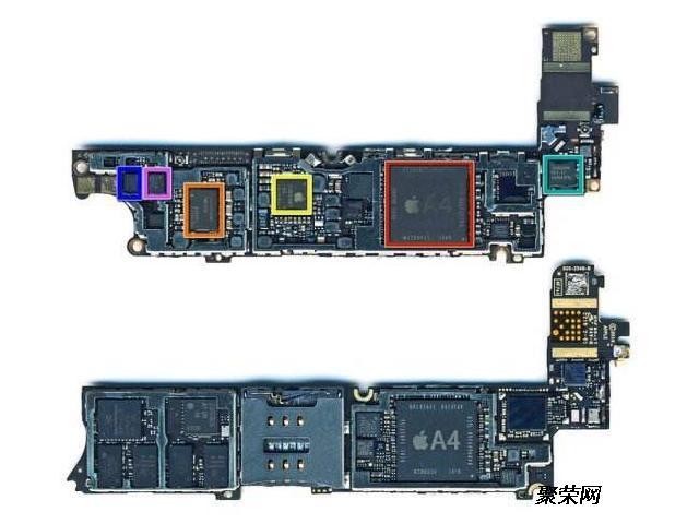求购苹果7sp主板光板芯片