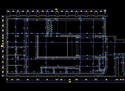 体育馆cad图绘制提供平面图郑州水电图设计