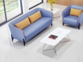 簡約休閑布藝沙發現代風款式多樣支持定制廣州盛源家具