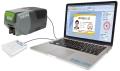 供應斯科德防疫通行證出入證PVC卡打印機