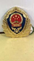 3米標準尺寸消防徽制作華沃龍徽章廠提供