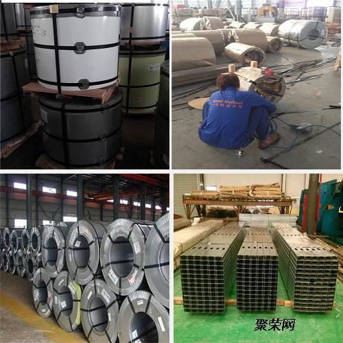 板一般以电镀锌和冷板为基板,用于生产冰箱和大型空调系统,冰柜,面包