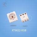 XT9822双信号线内置IC集成灯珠幻彩智能点控