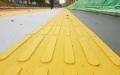 聚合物現澆盲道長久保質砂漿材料磨具銷售