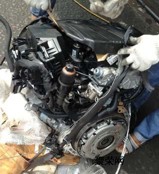 奔驰271发动机奔驰c200w203发动机波箱 发电机启动马