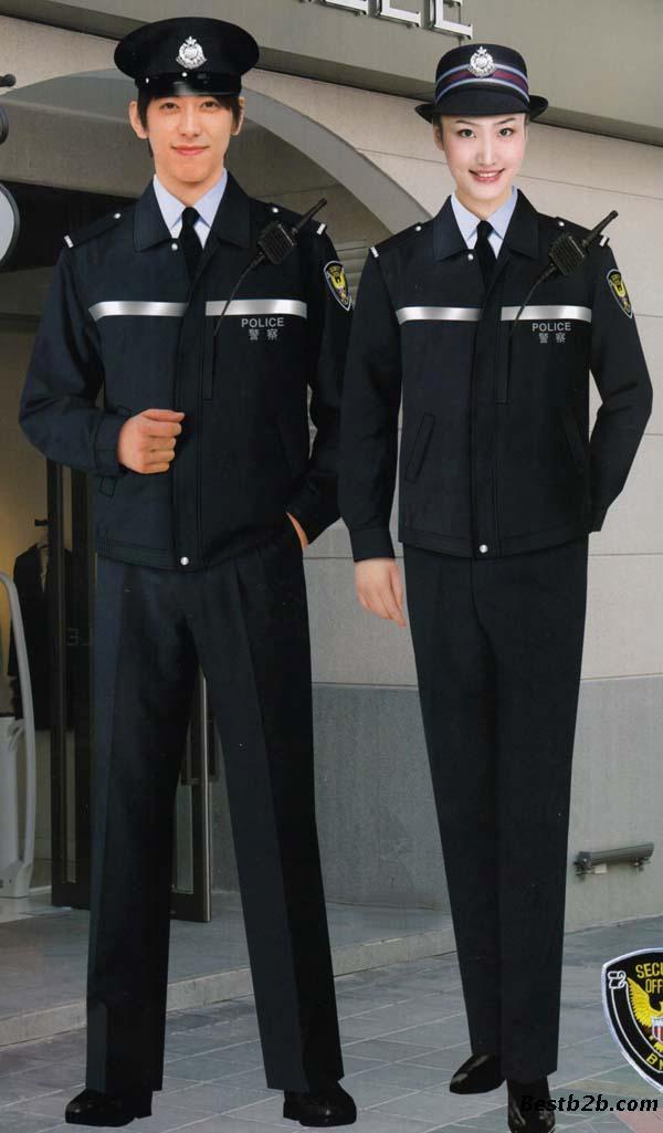 服装 工作服 工作制服     保安服特点:导入ci设计的保安服对于企业来
