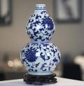 手繪陶瓷工藝盤定做陶瓷瓷板畫哥窯茶具茶葉罐青瓷茶具陶