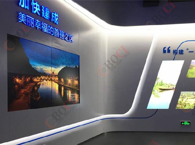 博慈液晶拼接大屏亮相杭州G20峰会举办场地云栖国际会展中
