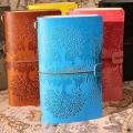 厂家直销手账本复古旅行记事本活页笔记本牛皮纸日记本定制