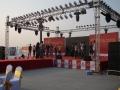 上海凱岳文化供應舞臺背景板搭建燈光線陣LED大屏租賃
