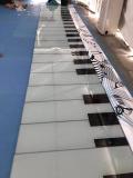發光月亮地板鋼琴出租 彩色跑出租租賃河南鴻升