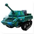 一比一仿真迷彩坦克車 戶外游樂設施