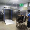 重慶食品加工廠500公斤熟食真空快速冷卻機