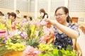 无锡插花和气球场景布置培训
